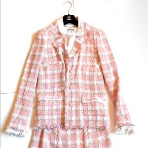Pink Chanel suit